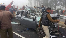 7 Killed as Fog Causes 50-Vehicle Pile Up in Rohtak, Toll Likely to Rise