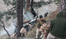 ITBP trooper killed, 34 others injured as bus plunges in Ramban