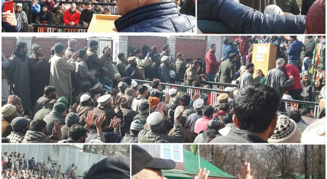 Big Jolt to PDP, NC as Hundrends of Prominent Workers Joins Congress during Party Convention in Bandipora, Usman Welcomes