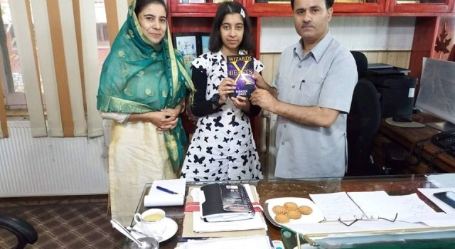 Rubayata is Kashmir's youngest Author