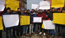 Teaching Aspirants Stages Protest At Press Enclave