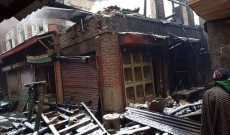 Two houses gutted in Baramulla fire mishap