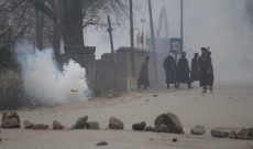 Clashes erupted near encounter site