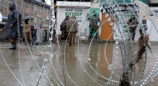 South Kashmir parts shuts on polling day