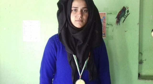64th National School Games: Kulgam Girl Won Gold Medal