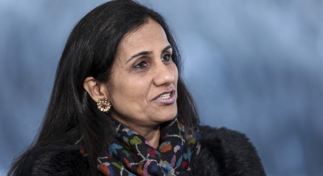 One of India's most celebrated woman bankers is booked in a $242 million fraud case