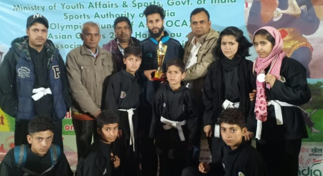 Kupwara Team bags 3 Gold,3 Silver and 3 Bronze medals in North india pincak silat championship 2019