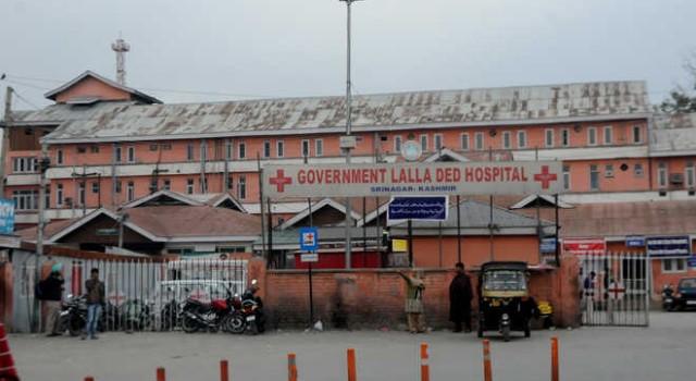 An act of Cowardice at LD Hospital Srinagar