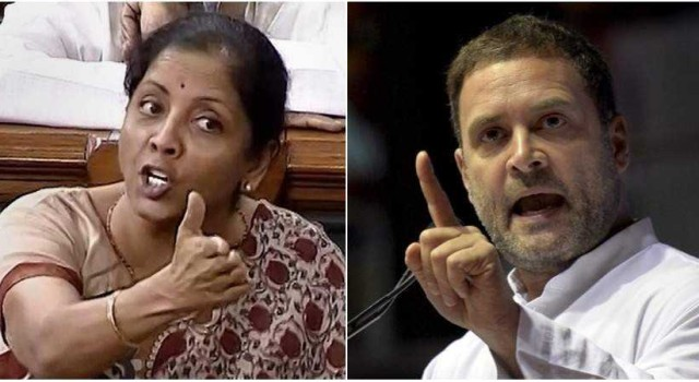 I come from a normal family, don't have 'khandaan' to boast of: Nirmala to Rahul