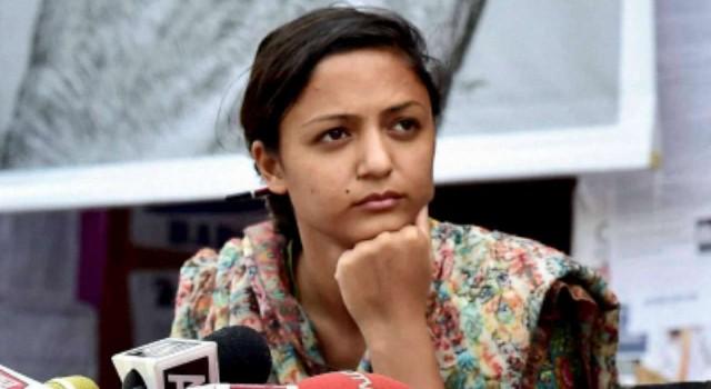Shehla Rashid Quits Electoral Politics