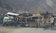 6 killed, 39 injured as bus falls into deep gorge in Udhampur