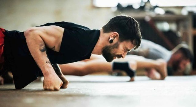 Men who can't do 10 push-ups at greater risk of heart disease, study says