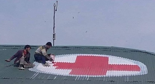 Hospitals in Kashmir directed to paint Red Cross signs on rooftops