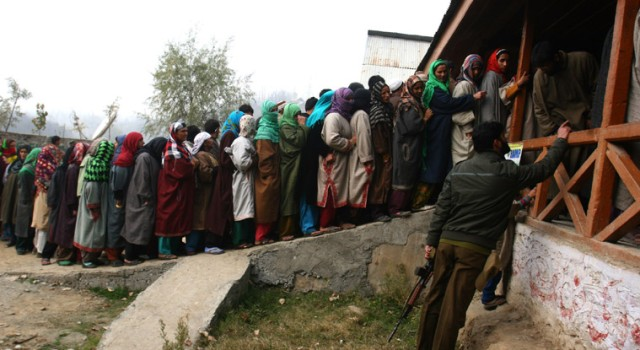 Polling begins for first phase of DDC elections in J&K