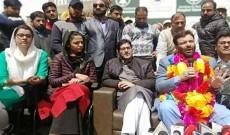 Former PDP leader Javaid Mustafa Mir joins Shah Faesal-led JKPM