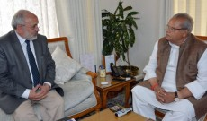 VC CUK Meets Governor
