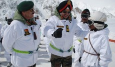 Northern Army Commander Reviews Operational Preparedness In Siachen Sector