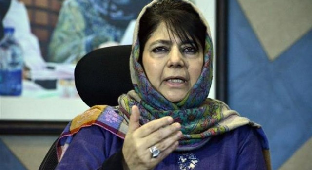 Normalcy acrobatics go on: Mehbooba Mufti slams BJP's Kashmir outreach amid lockdown