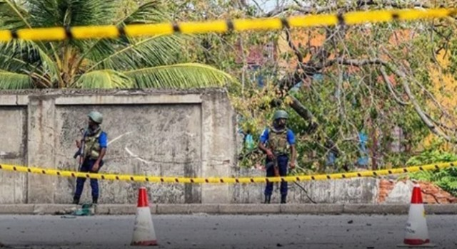 Six children among 15 killed in gun-battle in Sri Lanka