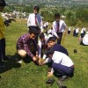 Students of AGS launches Plantation Drive in Bandipora