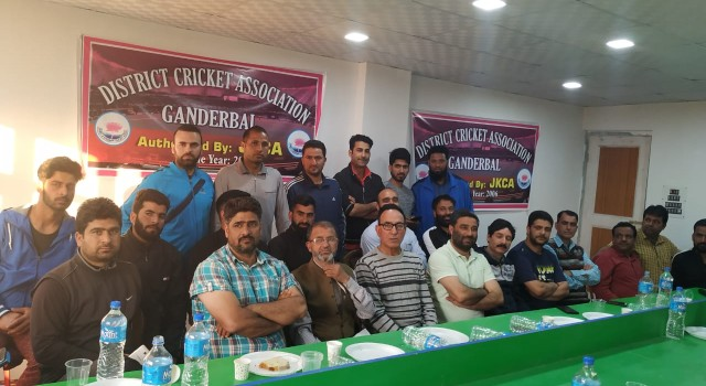 District Cricket Association Ganderbal elects president, advisory committee