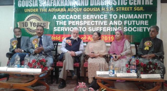 Gousia Shafakhana commemorates 10 years of services