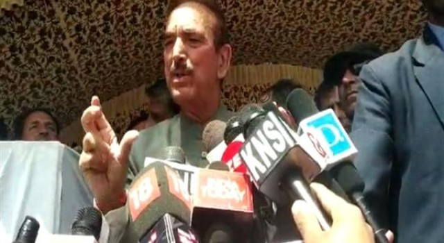 Rahul Gandhi never said signatories of letter were colluding with BJP: Azad