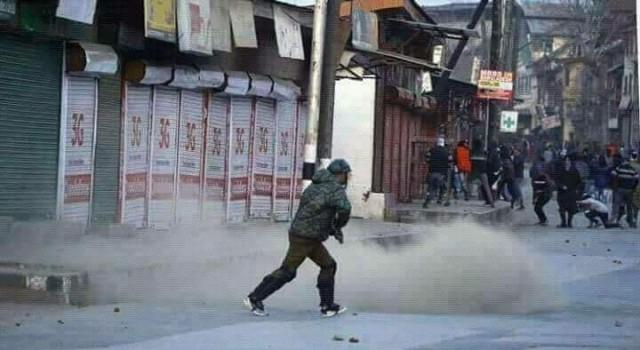 Zakir Musa killing: Sopore college students clash with police