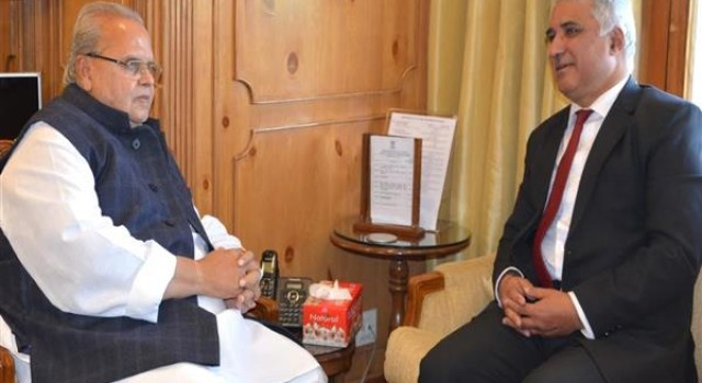 Director SKIMS meets Governor