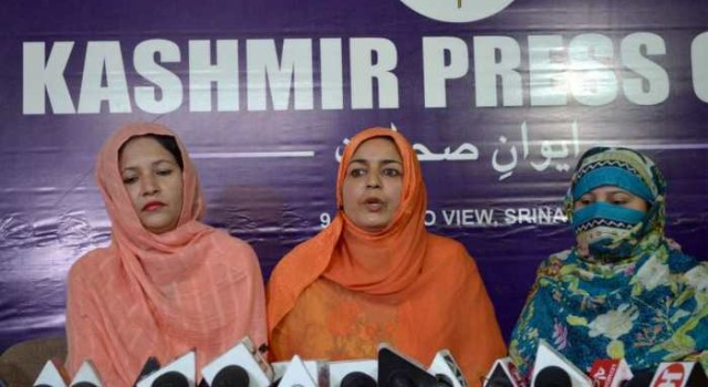 We will continue protest till our demands are not met: Pak origin wives of ex-militants