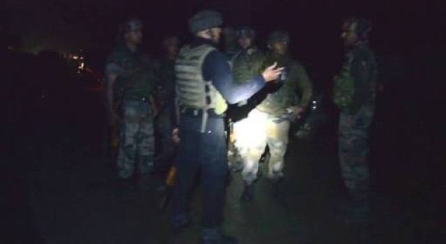 Forces launched search at Anantnag village