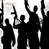 Militants offer gun salute to slain colleagues in Shopian