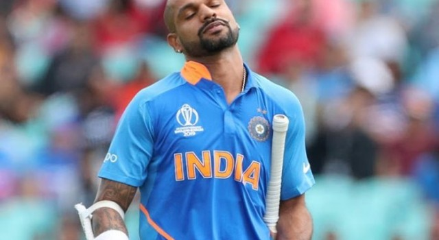 Huge blow for India; Shikhar Dhawan ruled out of World Cup 2019