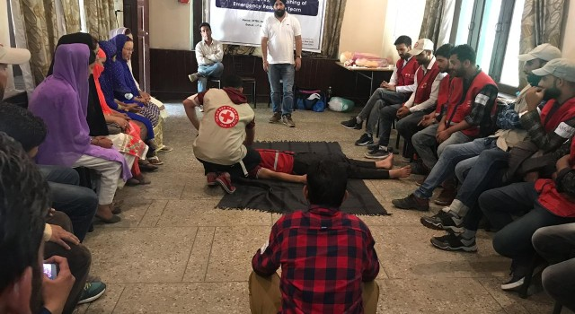 State Red Cross Kick Starts 3 Days First Aid Training In Banihal