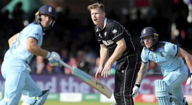 New Zealand all rounder Jimmy Neeshams coach died during World Cup final Super Over