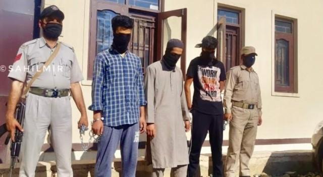 Hizb Commander Junaid Sehrai's Three Close Aides Arrested In Sgr