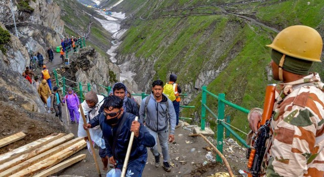 Amarnath Yatra Breaks a 4-Year Record