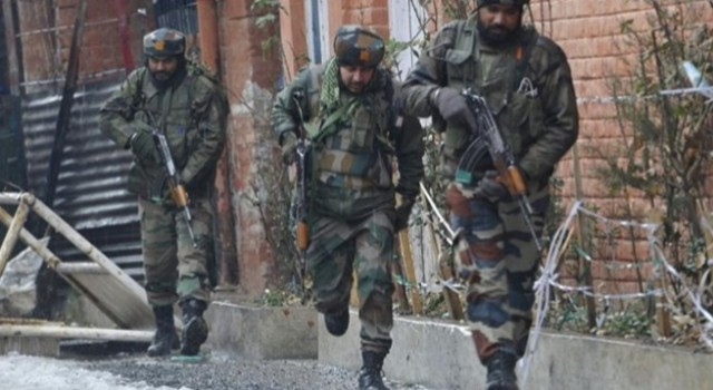 Forces launch CASO in Pulwama village
