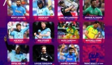 ICC Names World Cup XI,virat failed to find spot