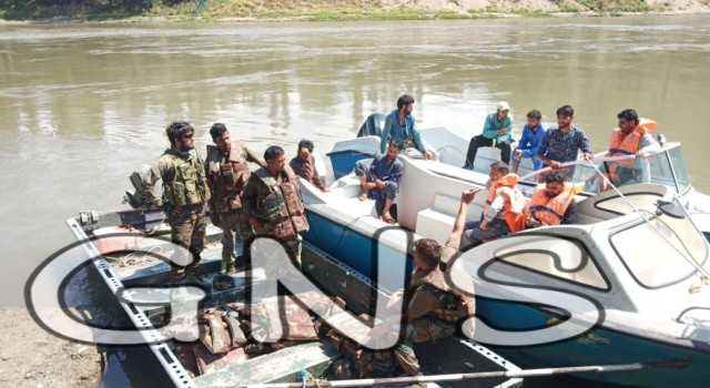 Day Two: Rescue Operation Continue To Locate Drowned Youth In Baramulla