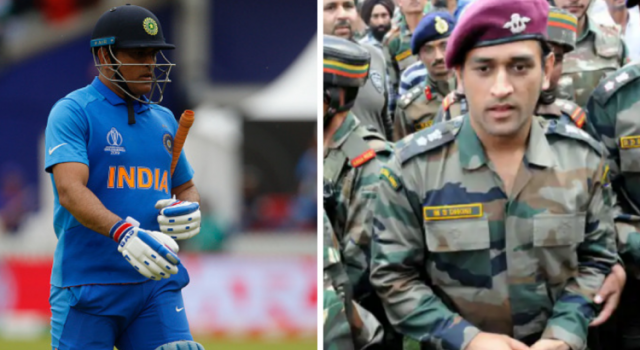 Dhoni may serve with Army battalion in J&K