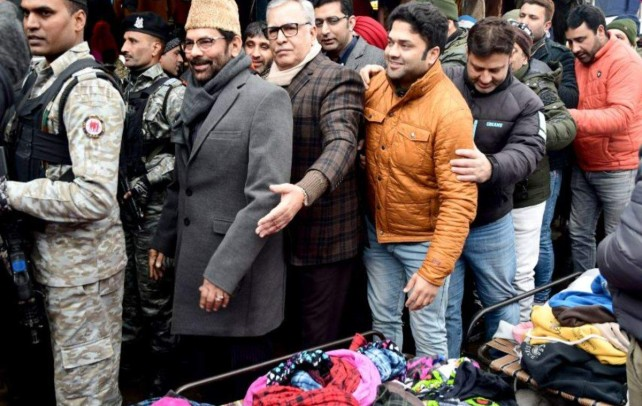 Central ministers in Kashmir to spread positivity among people: Naqvi