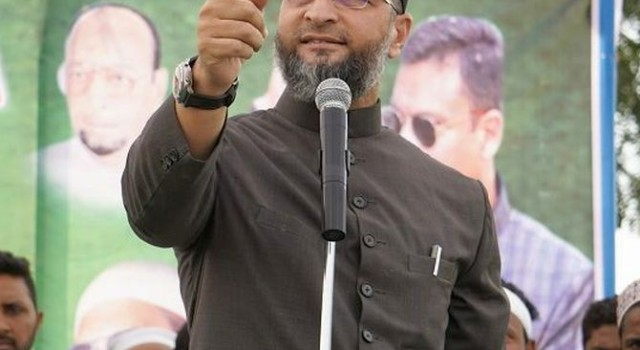 """Owaisi dares Amit Shah to debate on CAA with """"bearded man"""""""