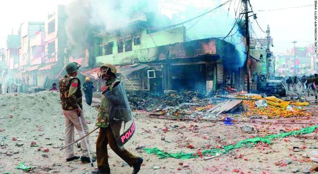 18 dead in Delhi violence; Amit Shah, Ajit Doval chair emergency meetings