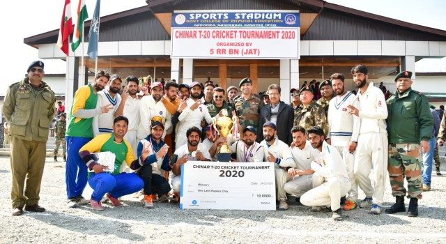 Lar Eleven Crowned Champions Of Chinar T-20 Cricket Tournament 2020