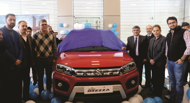 Jamkash Vehicleades Kashmir launches new Vitara Brezza