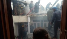 Two houses damaged in Noorbagh blaze