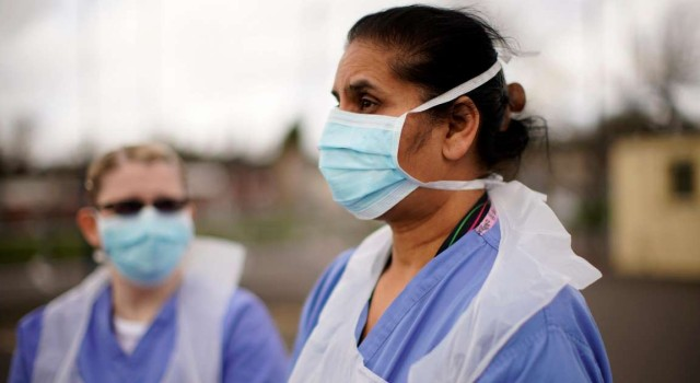 Operation of Covid infected pregnant ladies