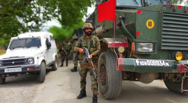High reaches of Dachigam brought under siege, operation underway