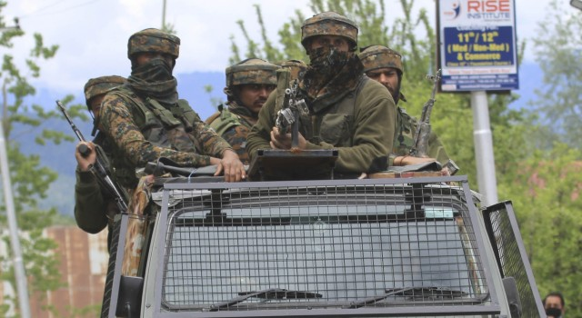 South Kashmir: Gunfight rages in Anantnag